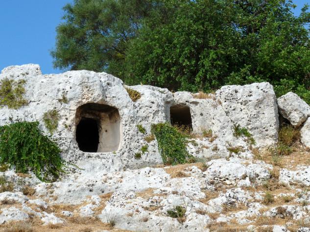 RNO Pantalica Valle dell Anapo Necropoli