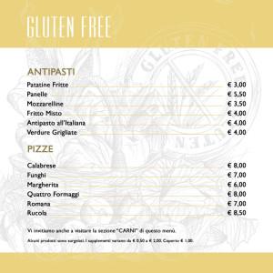 CAFFE ITALIA _ MENU 2017 DEFINITIVO GLUTEN FREE