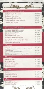 Menu Caffè Umberto 2