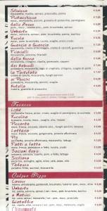 Menu Caffè Umberto 4