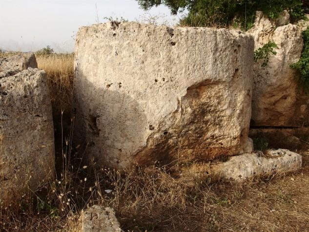 Area archeologica Cave di Cusa 2