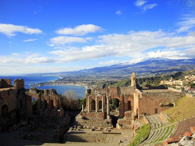 Teatro Greco Romano di Taormina (2)