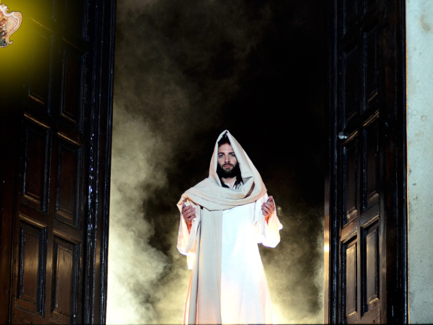 Via Crucis vivente a Monforte San Giorgio
